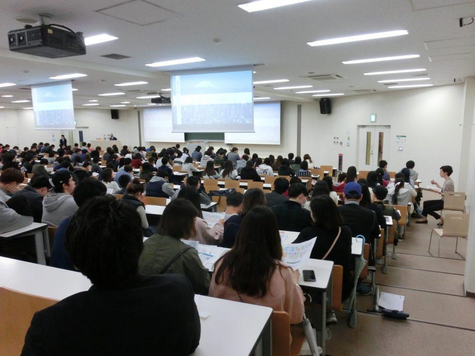 外国人留学生向けマナー講習会リポート